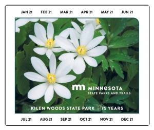 Minnesota State Park Sticker 2020